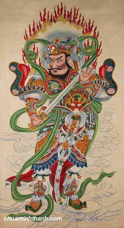 Hàm Ý Tứ Đại Thiên Vương Hộ Pháp Thần Của Phật Giáo Bắc Truyền